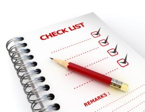 Toileting Checklist