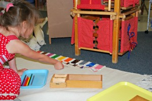 The Montessori Primary Curriculum