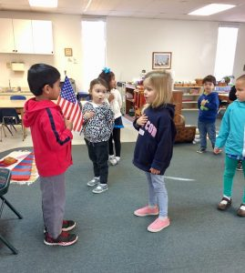 Friday group activity at Suntree Montessori!