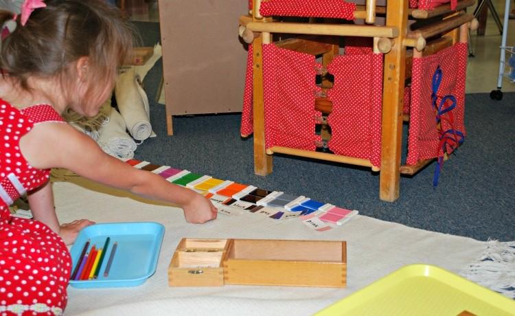 The Montessori Primary Curriculum